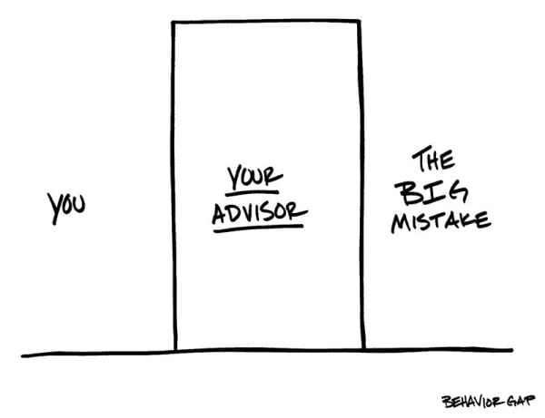 role of financial adviser - reduce mistakes