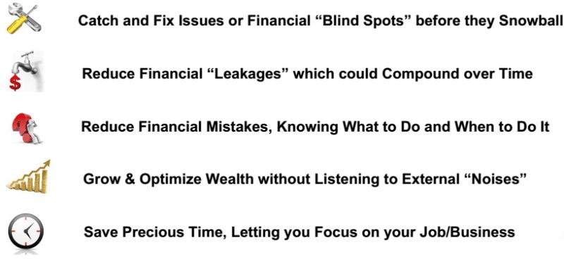 financial planning benefits