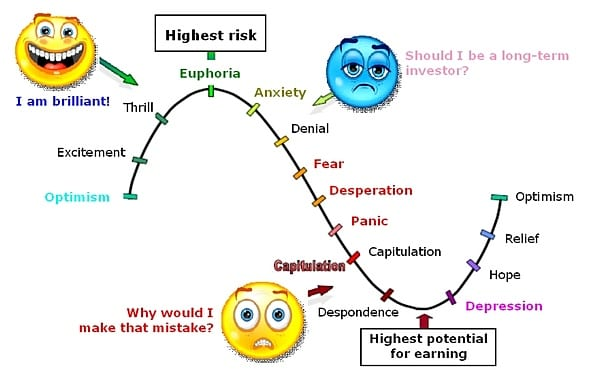 emotions investing in stock market