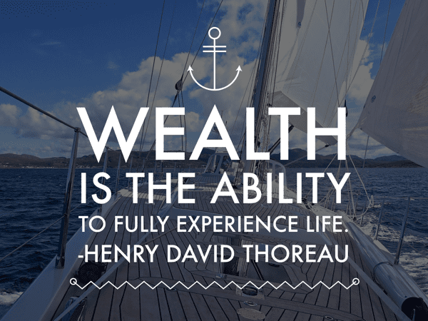 Financial independence to full experience life